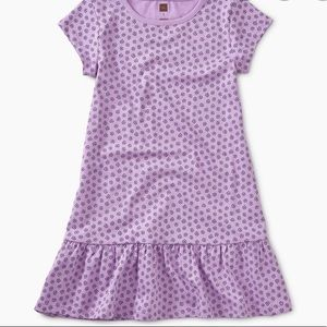 Tea Collection Printed Ruffle Dress Size 6